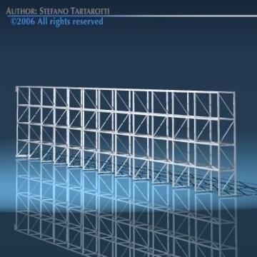 depot single shelves 3d model 3ds dxf obj 78637