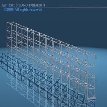 depot single shelves 3d model 3ds dxf obj 78639