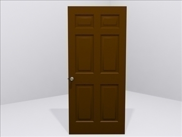 door door knob 3d model 3ds max wrl wrz obj 109050