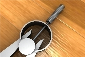 drafting compass 3d model 3ds c4d 109268