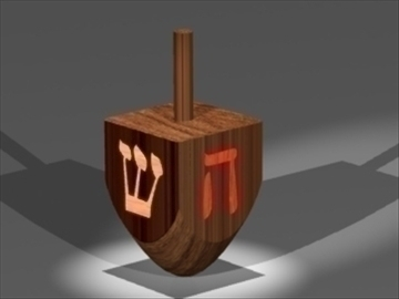 dreidel 3d model 3ds dxf lwo 80998