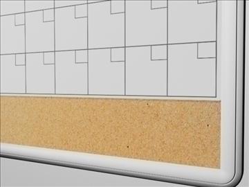 dry erase board 2 3d model 3ds max wrl wrz obj 109089