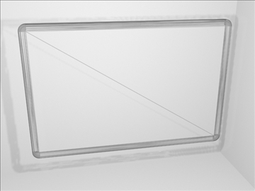 dry erase board 2 3d model 3ds max wrl wrz obj 109091