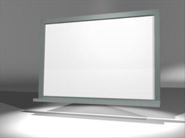 dry erase board 3d model 3ds dxf lwo 81108