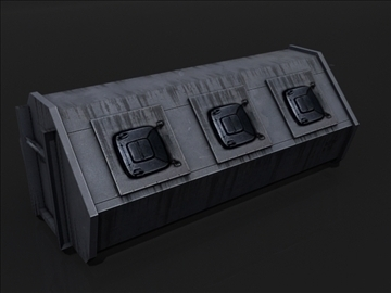 dumpster e 3d model 3ds max obj 107779