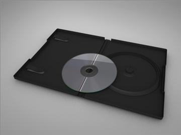 DVD tilfelli 3d líkan 3ds dxf fbx c4d x obj 84719