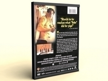dvd case ivy hill 3d model 3ds max lwo obj other 81551