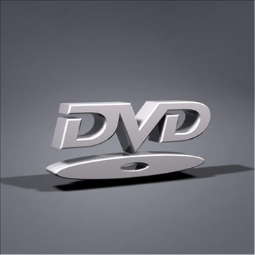dvd logo animation 3d model max 106057