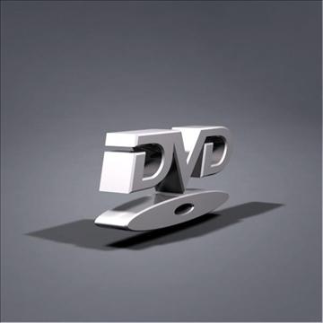 dvd logo animation 3d model max 106058