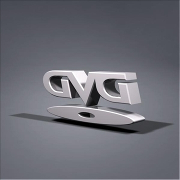 dvd logo animation 3d model max 106060