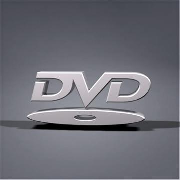 dvd logo animation 3d model max 106064