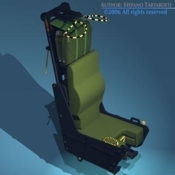 ejection seat 3d model 3ds dxf obj other 78280