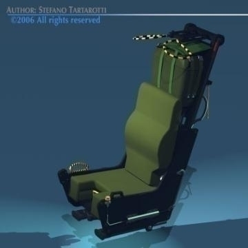 ejection seat 3d model 3ds dxf obj other 78281