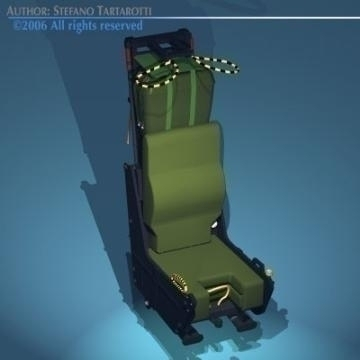 ejection seat 3d model 3ds dxf obj other 78282