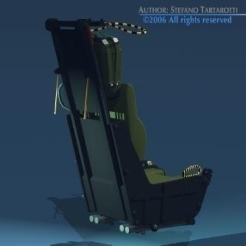 ejection seat 3d model 3ds dxf obj other 78283