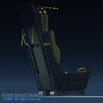ejection seat 3d model 3ds dxf obj other 78284