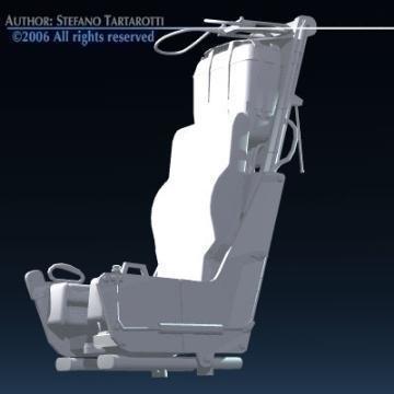 ejection seat 3d model 3ds dxf obj other 78286
