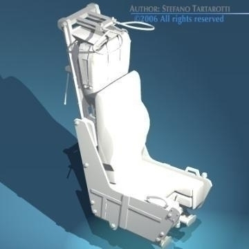 ejection seat 3d model 3ds dxf obj other 78288
