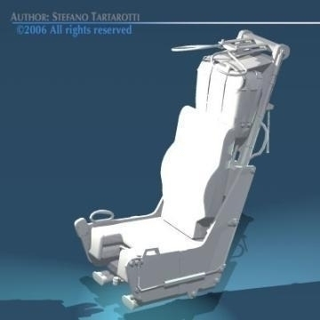 ejection seat 3d model 3ds dxf obj other 78289