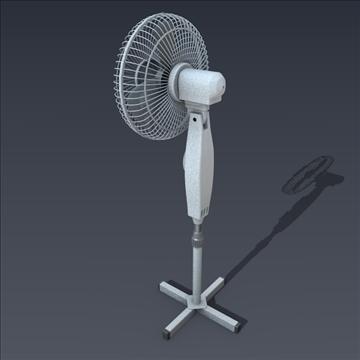 electric fan 3d model fbx blend obj 106700