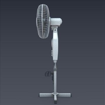 electric fan 3d model fbx blend obj 106701