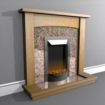 electric fire 3d model max 84962