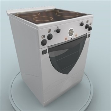 electric stove 3d model 3ds max 85405