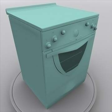 electric stove 3d model 3ds max 85406