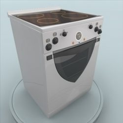 Electric stove ( 55.04KB jpg by GISHKA )