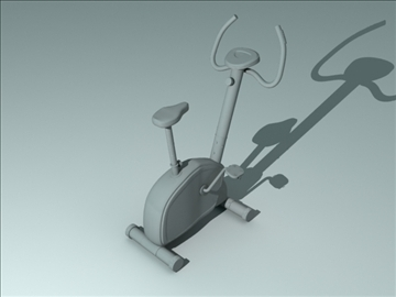 exercise bicycle 3d model obj 111758