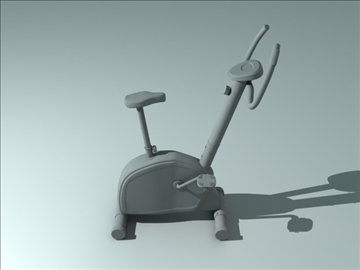exercise bicycle 3d model obj 111759