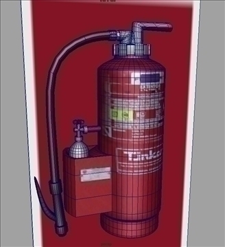 extinguisher 3d model ma mb obj 82334