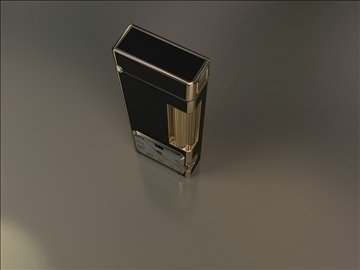 fashion lighter with clocks 3d model max 79411