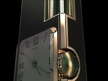 fashion lighter with clocks 3d model max 79413