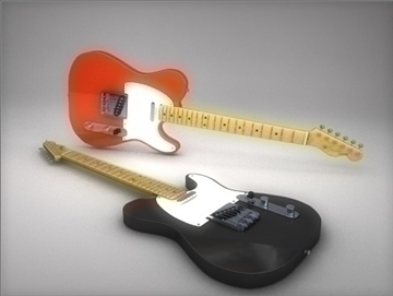 fender telecaster 3d model 3ds dxf fbx c4d other obj 82668