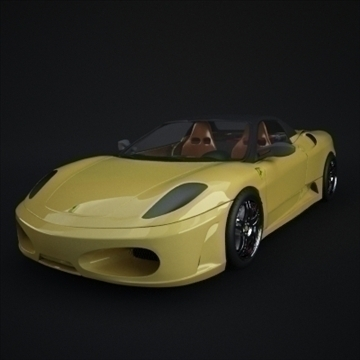 ferrari 430 spider 3d model 3ds max fbx obj 110984