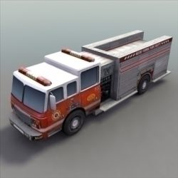 FireTruck_Rescue ( 72.05KB jpg by 3DArtisan )