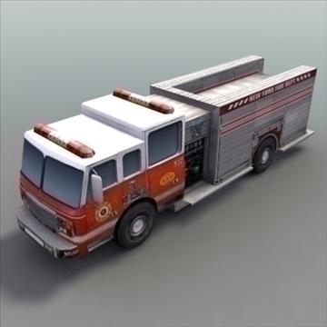 firetruck_rescue 3d model 3ds max fbx lwo ma mb hrc xsi texture obj 99319