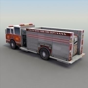 firetruck_rescue 3d modelis 3ds max fbx lwo ma mb hrc xsi faktūra obj 99322