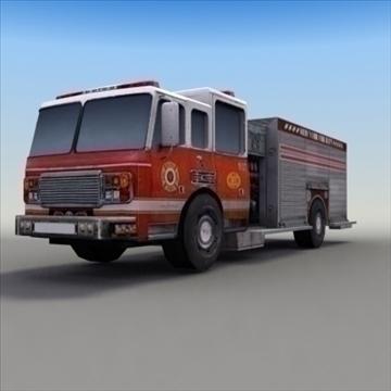 firetruck_rescue 3d modelis 3ds max fbx lwo ma mb hrc xsi faktūra obj 99323