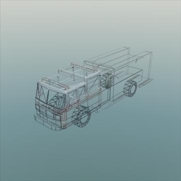 firetruck_rescue 3d modelis 3ds max fbx lwo ma mb hrc xsi faktūra obj 99324