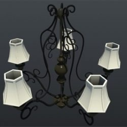 Five Light DF Traditional Chandelier ( 41.79KB jpg by Asephei )