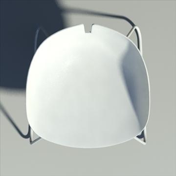 fjord krēsls balts 3d modelis max dwg fbx obj 87849