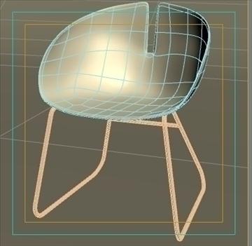 fjord krēsls balts 3d modelis max dwg fbx obj 87853
