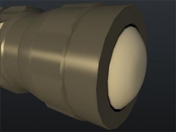 flash light 002 3d model 3ds max ma mb obj 102425