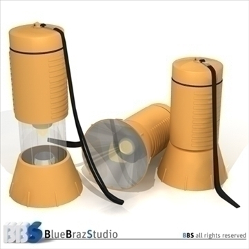 flashlight 3d modeli 3ds dxf c4d obj 103282