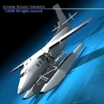 floatplane 3d modelis 3ds dxf c4d obj 88472