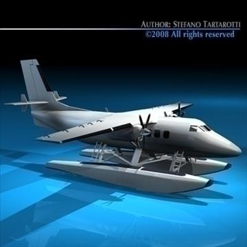 floatplane 3d modelis 3ds dxf c4d obj 88473