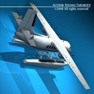 floatplane 3d modelis 3ds dxf c4d obj 88474