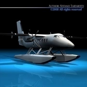 floatplane 3d modelis 3ds dxf c4d obj 88475